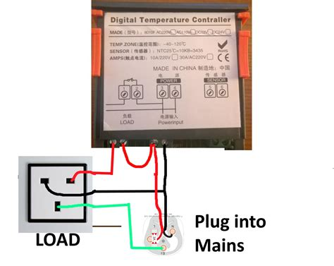 Advice Wiring Power Supply Digital Temperature