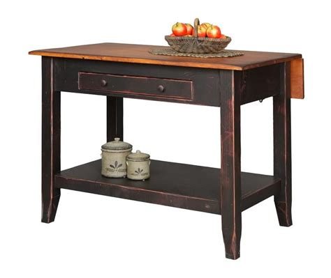 kitchen island bar table primitive kitchen island snack bar table drop side farmhouse country