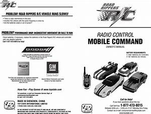 Toy State 37040r49a Mobile Command 49mhz Rx User Manual