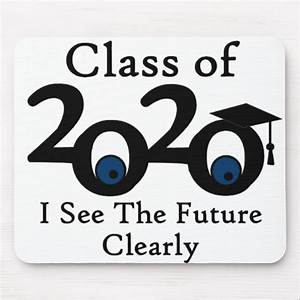 Class of 2020 Mouse Pad Zazzle