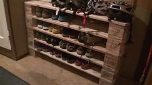 Schuhregal Selber Machen : schuhregal aus europaletten ernst 39 s heimwerker blog ~ Watch28wear.com Haus und Dekorationen
