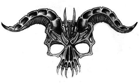 demon skull  malcolmblaisdell  deviantart