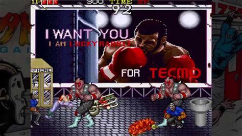 Ninja Gaiden Arcade Level 2 Boss Youtube