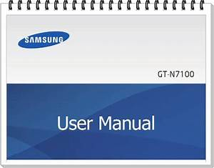 Samsung Galaxy Note 2 Gt N 7100 Manual User Guide
