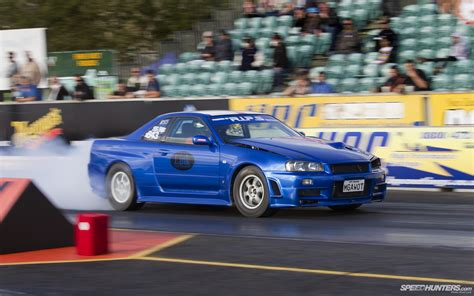 Gtr Drag Car by Nissan Skyline Gtr Burnout Drag Race Car Hd