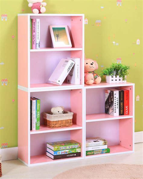 Kid Bookcase Storage by Children Furniture Pink Bookcase Bookshelf