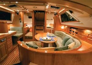 Awesome Boat Interior Design #8 Sailboat Interior Design ...
