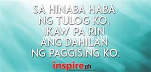 Tagalog Love Qu... Walang Tulog Quotes