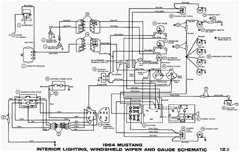 mustang wiring diagrams schematic wiring diagrams