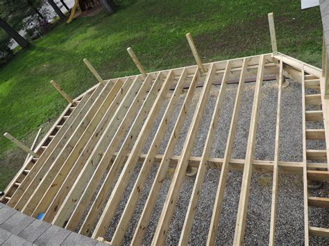 Trex Decking Support Spacing by Decks Installing Composite Decking