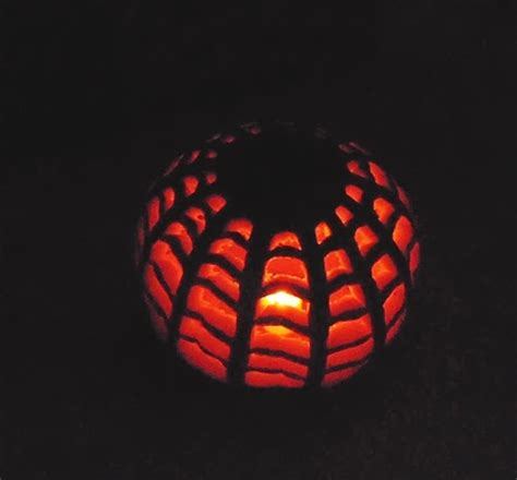 spider o lantern pattern spiderweb lantern pumpkin carving simply curious