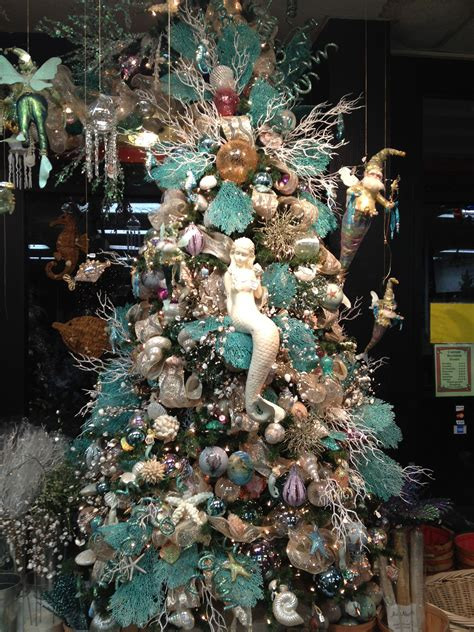 under the christmas lights the sea tree at city lights emporium san diego home