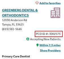 The dentist provider network is accessible online or you can call customer. How do I change my Primary Care Dentist?