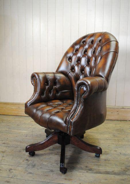 chaise de bureau chesterfield chaise de bureau chesterfield