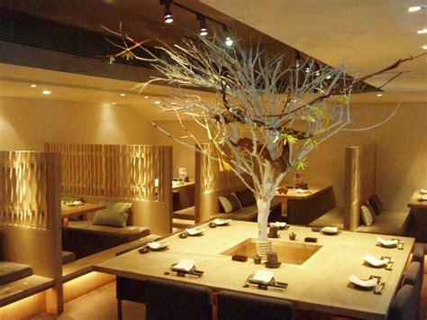 restaurant deco decorating fascinating japanese restaurant modern design ideas indoor plant stunning