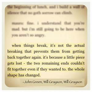 Will Grayson, Will Grayson | Quotes | Pinterest | John ...
