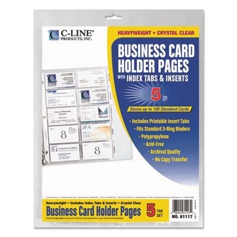Rolodex business card binder refill colourmoves