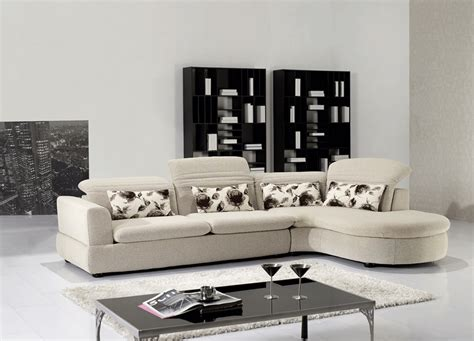 Contemporary Microfiber Sectional Sofa by Modern Microfiber Sectional Aa317 Fabric Sectional Sofas