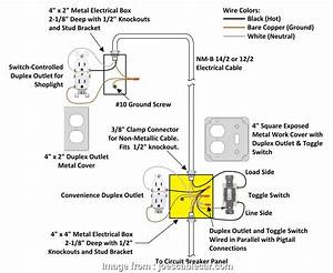 How To Wire A Light Switch  Plug In  Same Box Creative