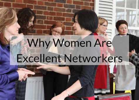 Why Women Are Excellent Networkers  The Athena Network