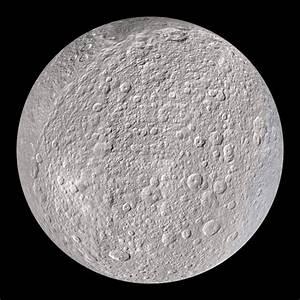 Rhea: Saturn's Moon Dataset | Science On a Sphere