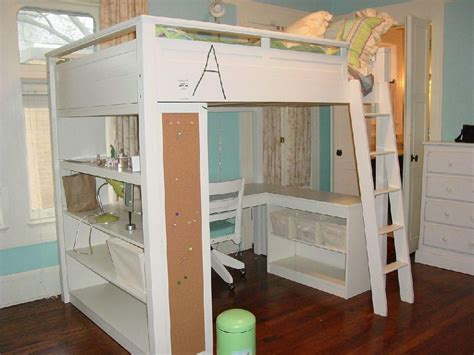 loft bed with desk and storage loft bed with desk creative storage floating desk open