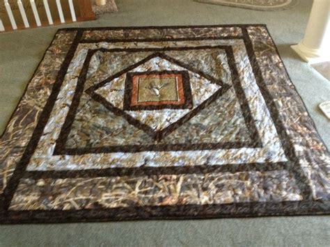camo quilt pattern my grandson trint s new camoflage quilt he picked out