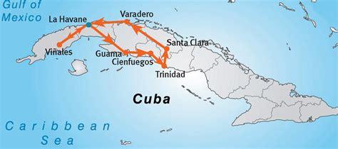 Carte Du Monde Cuba by Carte Cuba Et Pays Voisins Pays Monde