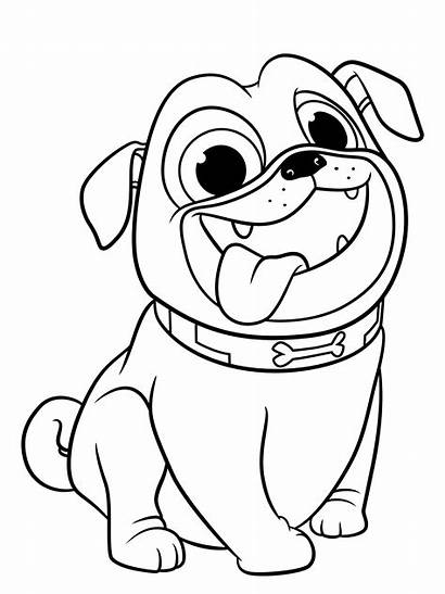 Coloring Pages Puppy Dog Pals Pug Printable