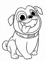 Coloring Pug Dog Puppy Printable Pals Sheets Sheet Animals Colouring Puppies Cartoon Google Husky Coloringtop sketch template