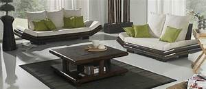 Set De Table En Bambou : meubles bambou weng ethnic chic c 39 est tao ~ Premium-room.com Idées de Décoration