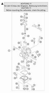 Ktm Fiche Finder Carburetor Pwk 28 85 Sx Spare Parts For The Ktm 85 Sx 17  14
