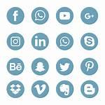Social Icons Symbol Icon Transparent Vectors