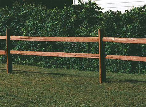 Universal Forest Products: Ranch Rail Wood Fence Styles