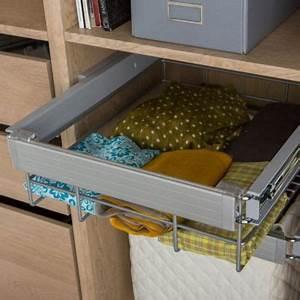 Panier Coulissant Dressing : panier 50 x 56 cm darwin castorama ~ Premium-room.com Idées de Décoration