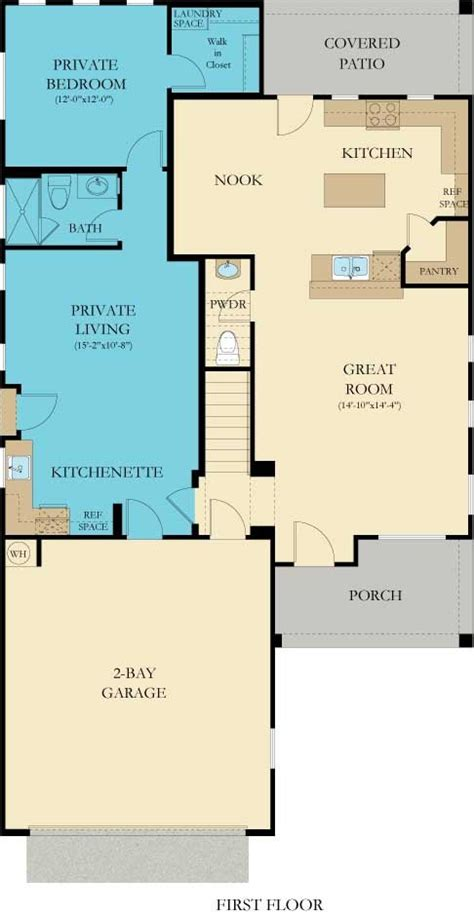 Lennar Oracle Nextgen Floor Plan by 3561 Freedom New Home Plan In Mtn Vail By Lennar