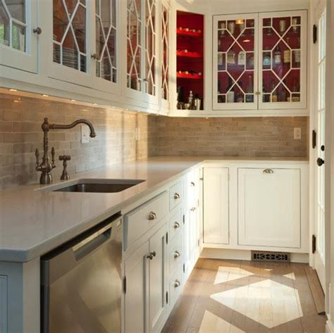 paint  cabinets country kitchen bhg