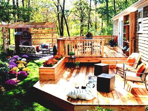Backyard Landscape Ideas Back Yard For Sloping Yards