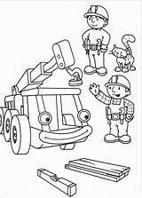 Builder Bob Coloring Episodes sketch template