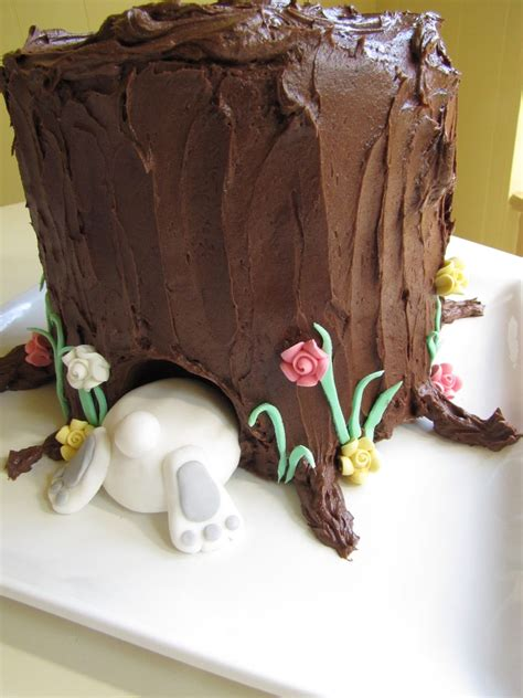 creative  sweet ideas  easter bunny cake style