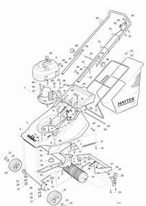 Hayter Harrier 41 Spares Diagram