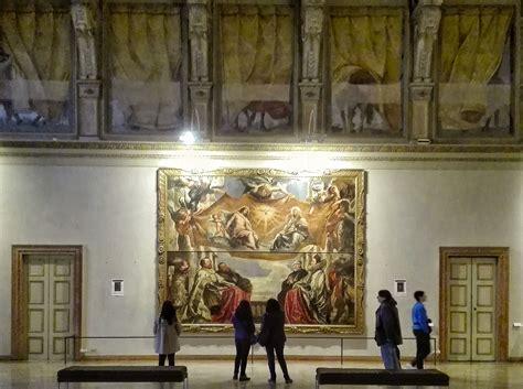 mantova visitare palazzo ducale  la camera degli sposi