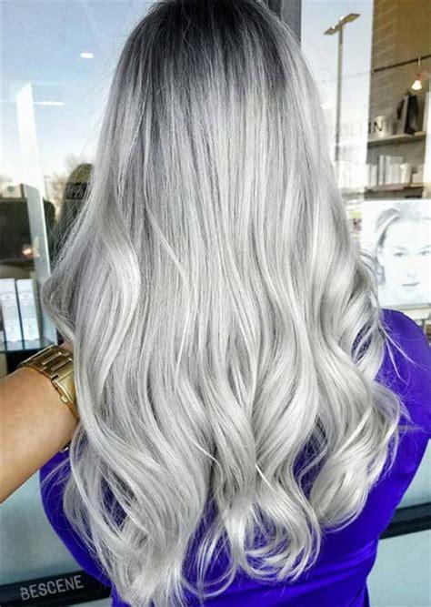 silver hair color ideas hairslondon