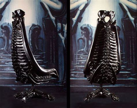 Giger Harkonnen Capo Chair by Top 5 H R Giger Designs 187 High Fidelity Notes