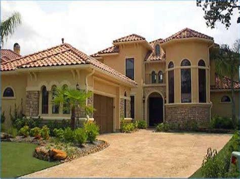 Mediterranean Style House Plans Spanish Exterior