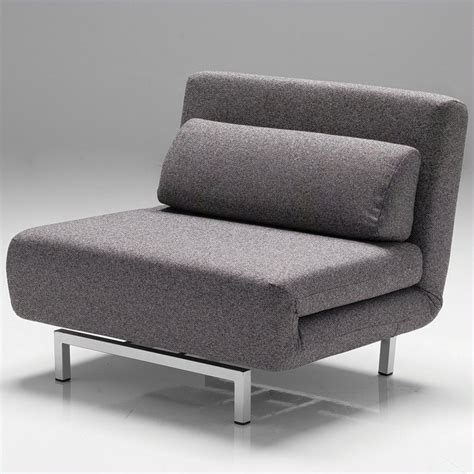 mobital iso chair bed in charcoal tweed cha iso1 char tweed