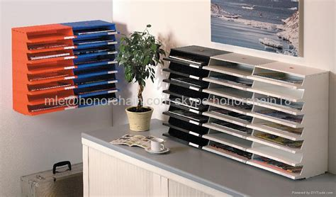 office stackable document tray file tray  twinco