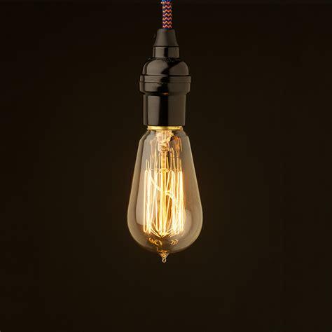 edison style light bulb vintage bakelite fitting