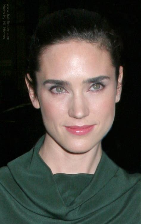 jennifer connelly   hair pulled