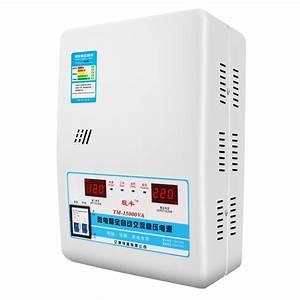 Automatic 15kw Voltage Stabilizer Ac Regulator Power